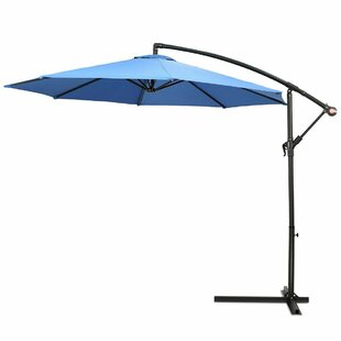 Sun Shade Banana 2.7m Cantilever Parasol By Freeport Park