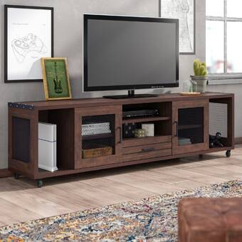 Allmodern Nena Tv Stand For Tvs Up To 78 Reviews Wayfair
