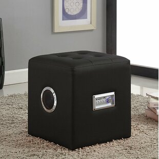 Modern Bluetooth Speaker Sound Lounge Cube Ottoman