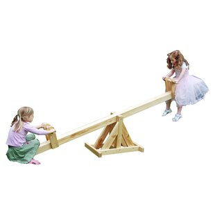 Wooden See-Saw By Freeport Park