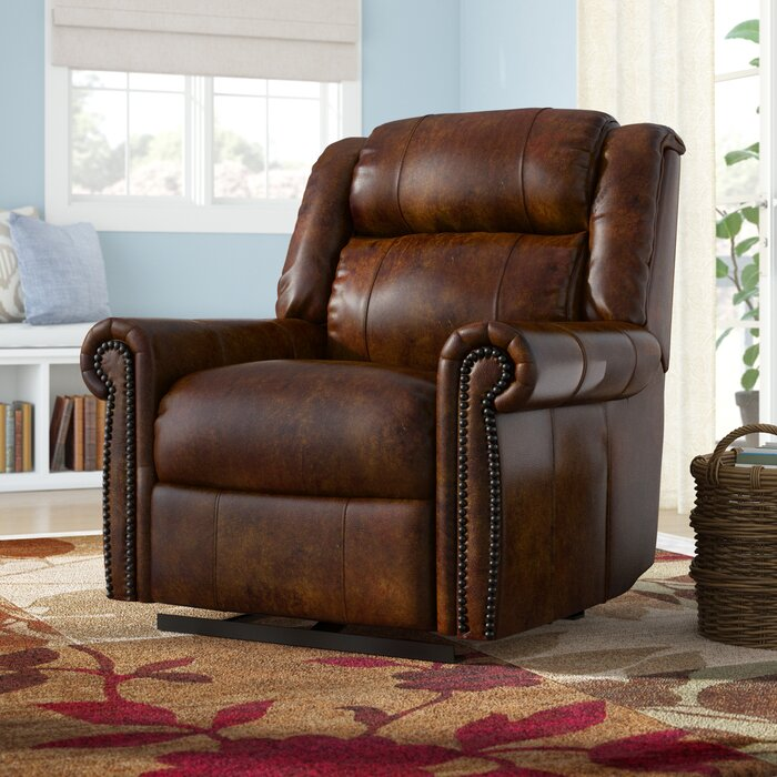 Pleasing Esme Leather Power Recliner With Power Headrest Caraccident5 Cool Chair Designs And Ideas Caraccident5Info