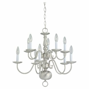 Darby Home Co Spencerville 10-Light Chand..