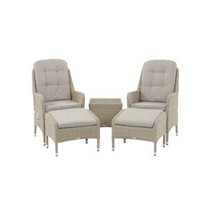 Darshan 2 Seater Rattan Conversation Set Image