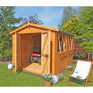 7.3 Ft. W X 15.7 Ft. D Shiplap Apex Wooden Shed By WFX Utility