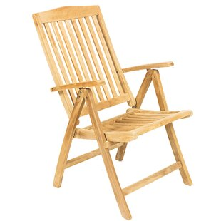 Barca Grade A Five Position Wood Folding Chair By Numero