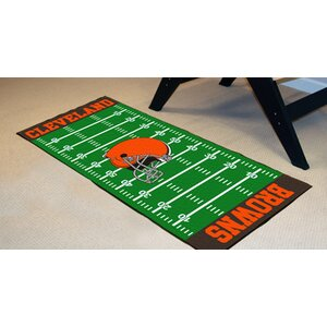 NFL - Cleveland Browns Football Field Runner