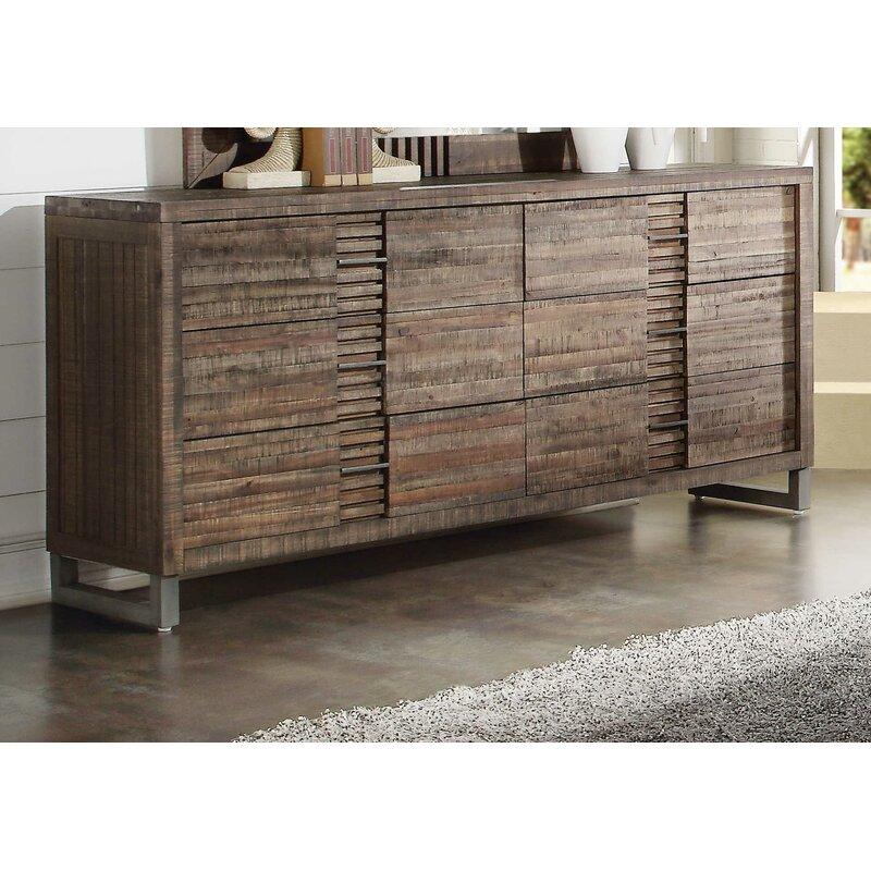 Foundry Select Beatty 6 Drawer Double Dresser Wayfair