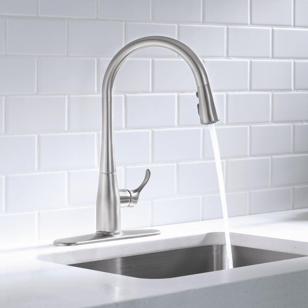 Kohler Simplice Kitchen Faucet Modern Green House