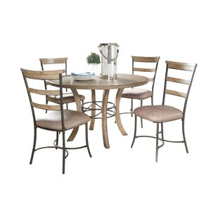 Rocio 5 Piece Dining Set Alcott Hill