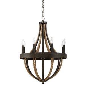 Laurel Foundry Modern Farmhouse Helga 8-Light Empire Chandelier