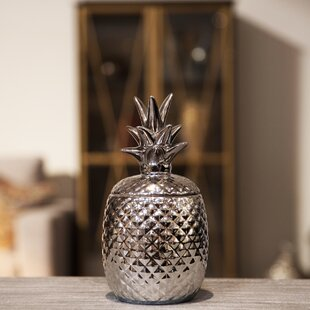 Pineapple 1.25 Qt. Kitchen Canister by Urban Trends Savings