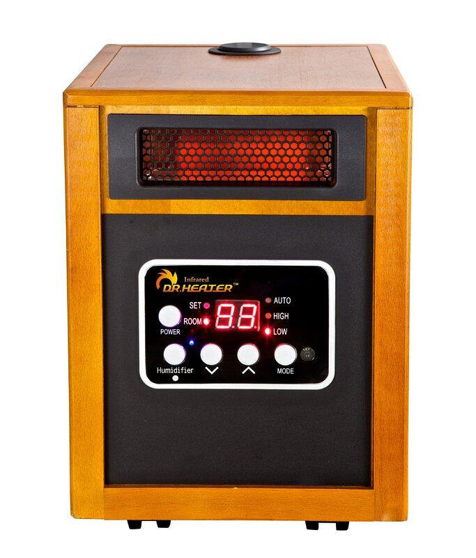 Dr. Infrared Heater 1,500 Watt Electric Infrared Cabinet Heater ...