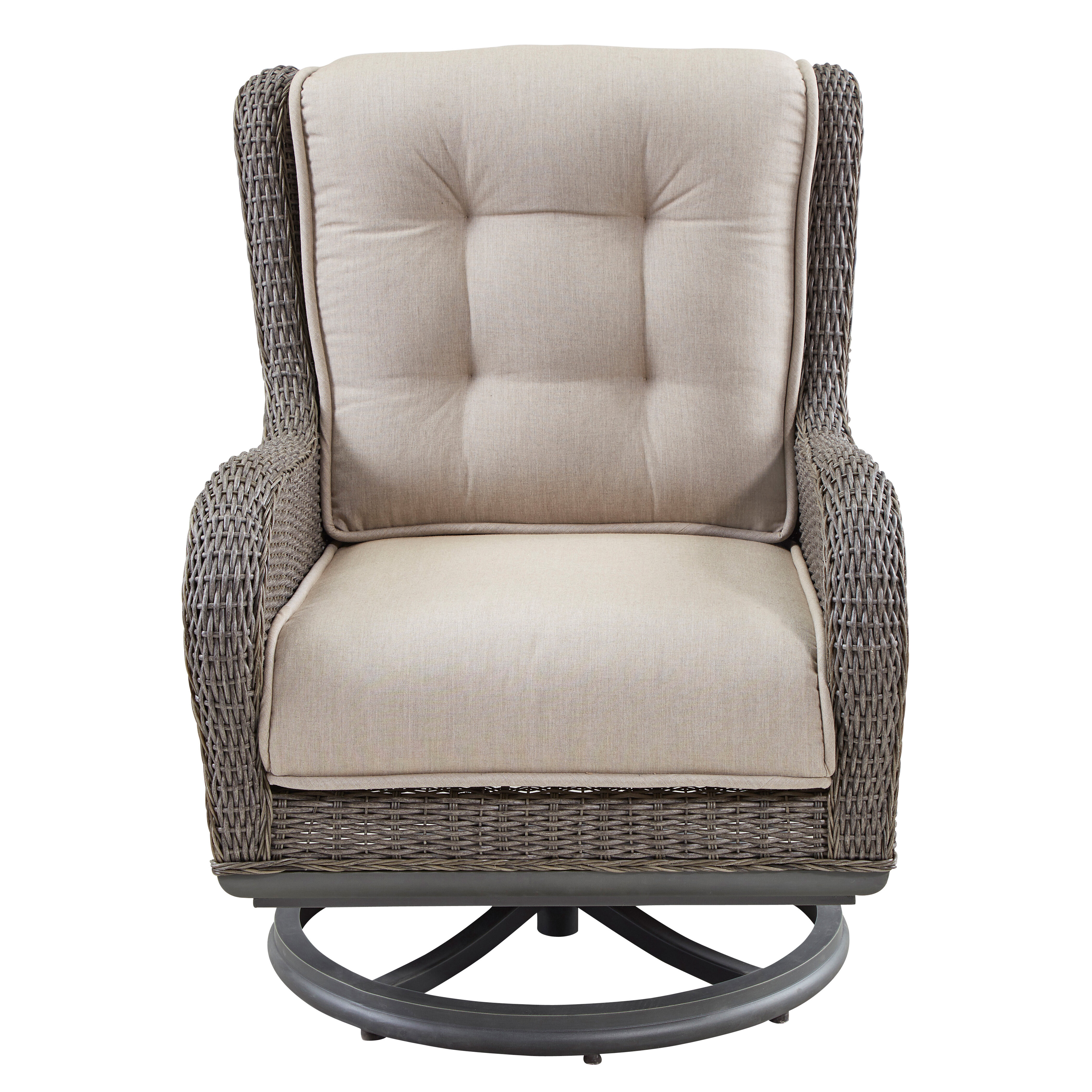 Awe Inspiring Paula Deen Home Dogwood Swivel Lounge Chair With Cushions Gmtry Best Dining Table And Chair Ideas Images Gmtryco