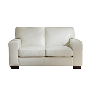 Tennie Craft Leather Loveseat