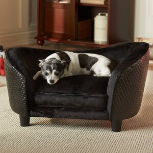 Ultra Plush  Dog Sofa with Loft Cushion