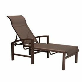 Lakeside Reclining Chaise Lounge by Tropitone Cool
