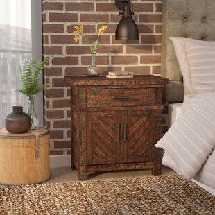 Gracie Oaks Caramont 1 Drawer Nightstand