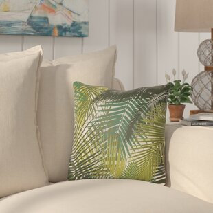 Edwards Palm Indoor/Outdoor Throw Pillow