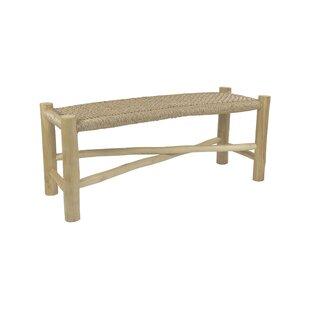 Orrie Wood Bench By Bay Isle Home