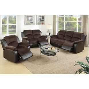 Kate Reclining 3 Piece Living Room Set by..