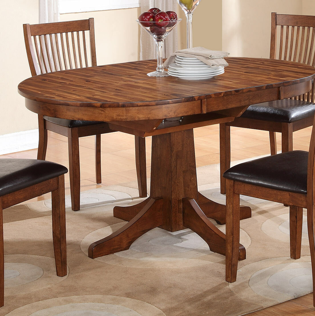 Loon Peak Blanco Point Extendable Dining Table Reviews Wayfair