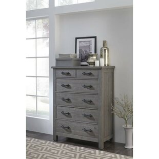 Darcey Wooden 6 Drawer Chest