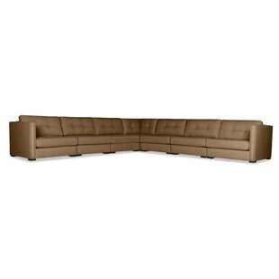 Timpson Buttoned L-Shape Modular Sectional by Latitude Run Discount