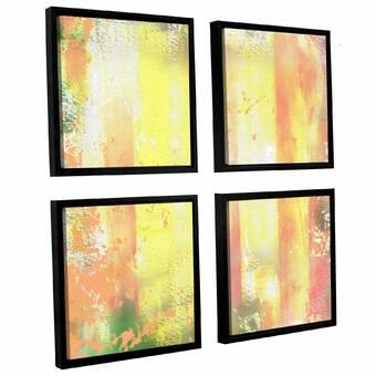 Ivy Bronx Highline View 3 Piece Framed Painting Print On Canvas Set Wayfair