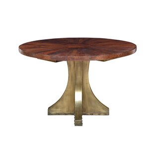 Goin Solid Wood Dining Table by Bloomsbury Market Wonderfult