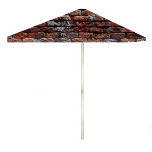 London Brick 6' Rectangular Market Umbrella