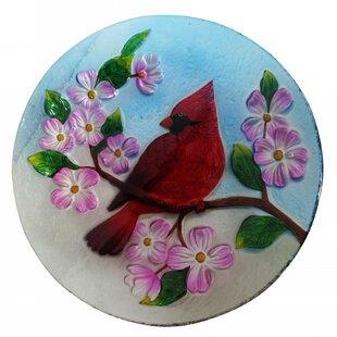 Alpine Cardinal Birdbath