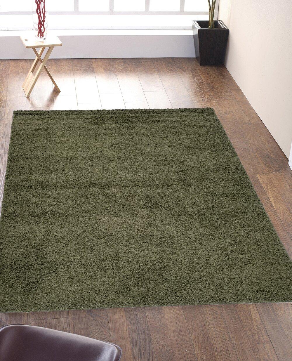 Ebern Designs Lovingston Tufted Green Indoor Outdoor Area Rug Wayfair