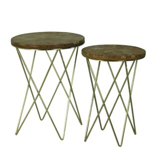 Andi 2 Piece Nesting Tables by Brayden Studio