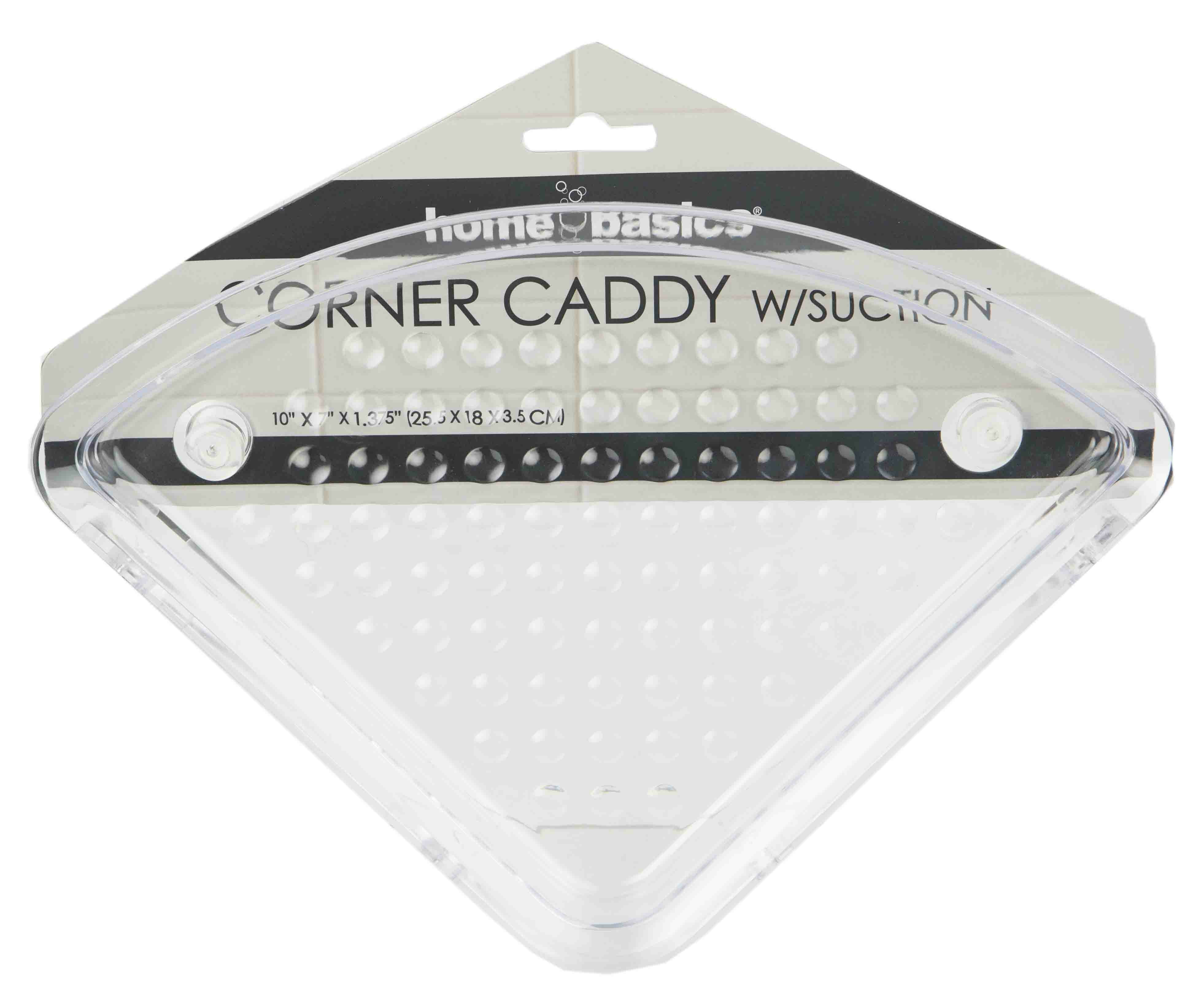 Corner Shower Caddy With Suction Cups