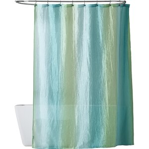 teal striped shower curtain. Clearman Striped Shower Curtain Ticking Stripe  Wayfair