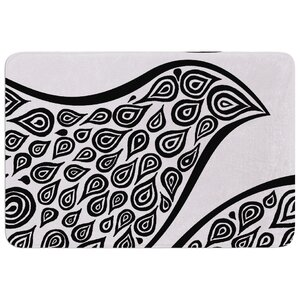 Bird in Disguise by Pom Graphic Design Bath Mat