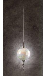 Schrum 1-Light Mini Pendant by World Menagerie