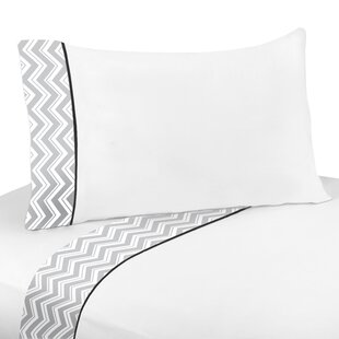 Zig Zag 3 Piece 100% Cotton Sheet Set