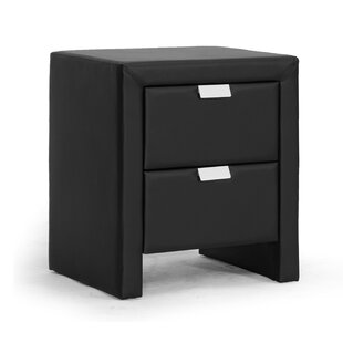 Latitude Run Boyland 2 Drawer Nightstand