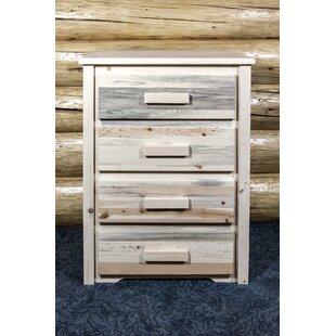Loon Peak Abella 4 Drawer Standard Dresser/Chest