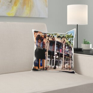 Ybor City Tampa Florida Pillow Cover