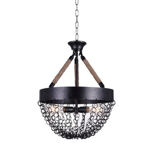 CWI Lighting Mackenzie 3-Light Bowl Pendant