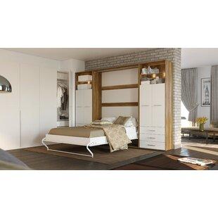 Feingold Vertical Queen Murphy Bed with Mattress by Latitude Run