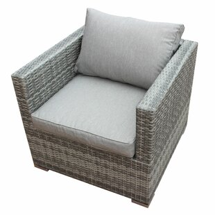 Orren Ellis Khalid Patio Chair with Cushion