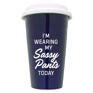 Gration Sassy Pants Travel Mug