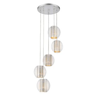 Mcginn 5-Light Cluster Pendant by Ebern Designs