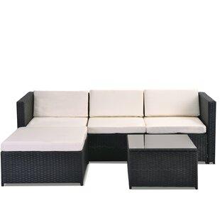 Froholdt 4 Seater Rattan Sofa Set By Sol 72 Outdoor
