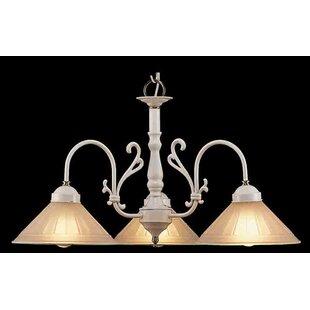 Classic Lighting Billings 3-Light Shaded Chandelier