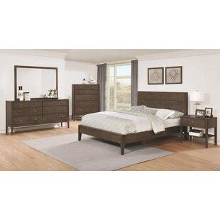 Union Rustic Hurley Platform Configurable Bedroom Set