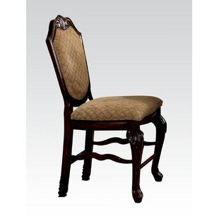 Stephenson Counter Height Upholstered Dining Chair (Set of 2) Astoria Grand